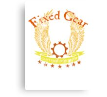 Fixed Gear - Cant Stop Wont Stop! Canvas Print