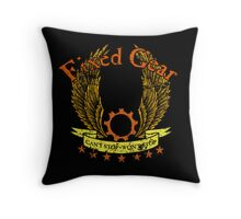 Fixed Gear - Cant Stop Wont Stop! Throw Pillow