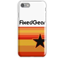 Fixed Gear Retro Star iPhone Case/Skin