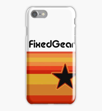 Fixed Gear Retro Star iPhone Case/Skin