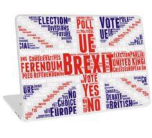BREXIT - britain exit Laptop Skin