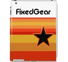 Fixed Gear Retro Star iPad Case/Skin