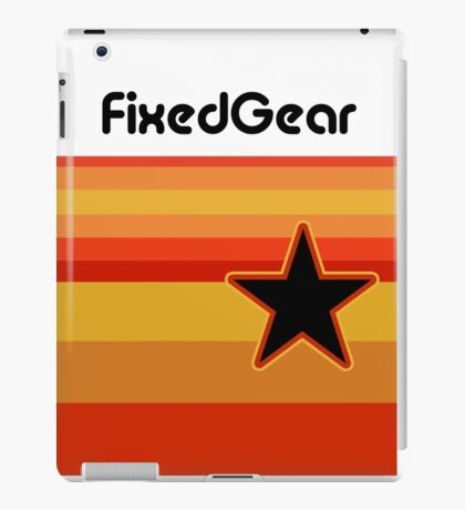 Fixed Gear Retro Star iPad Case/Skin
