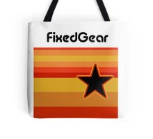 Fixed Gear Retro Star Tote Bag
