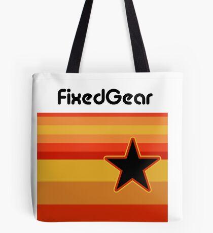 Fixed Gear Retro Star Tote Bag