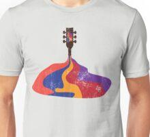 Guitar Half Full of Wine Unisex T-Shirt