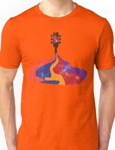 Guitar Half Full of Wine Unisex T-Shirt