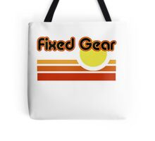 Fixed Gear Sunset Tote Bag