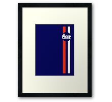 Fixie Strips Framed Print