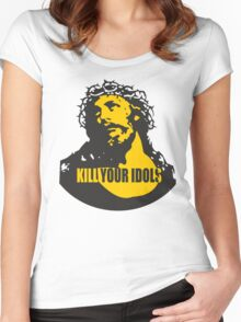 KILL YOUR IDOLS Women's Fitted Scoop T-Shirt