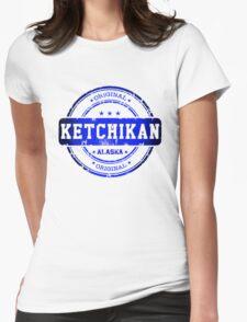 Ketchikan Alaska  Womens Fitted T-Shirt