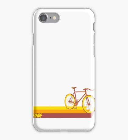 Fixie Retro Stripes iPhone Case/Skin