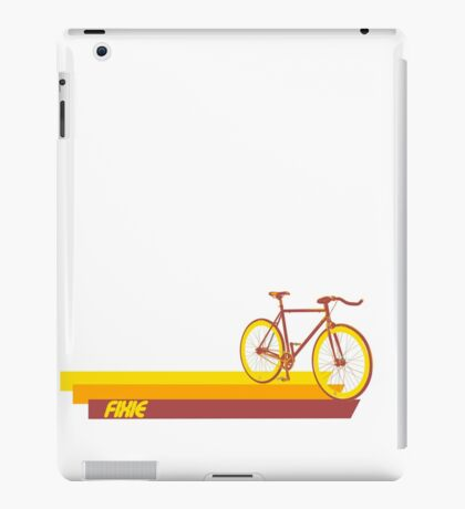 Fixie Retro Stripes iPad Case/Skin
