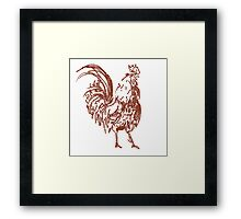 Cock Framed Print