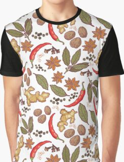 Spices pattern Graphic T-Shirt