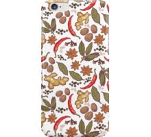 Spices pattern iPhone Case/Skin