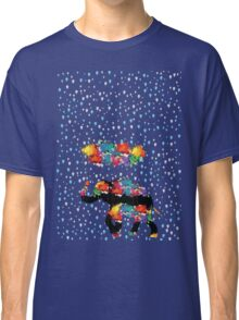 I love rain (blue) Classic T-Shirt
