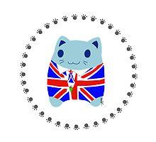 Steve loves the United Kingdom by lokiimotion