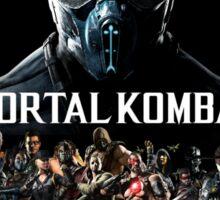 Mortal Kombat X Character Poster Sticker