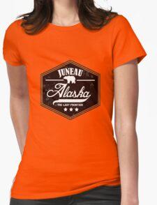 Juneau Alaska Womens Fitted T-Shirt