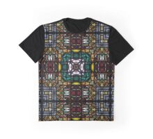 Stained glass 9 Graphic T-Shirt