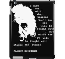 WORLD WAR IV iPad Case/Skin