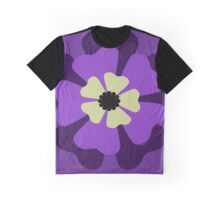 Purple Flower 1 Graphic T-Shirt