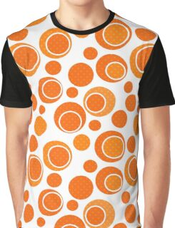 Seamless abstract pattern with circles ornamental elements print background Graphic T-Shirt