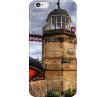 The Light on the Town Pier iPhone Case/Skin