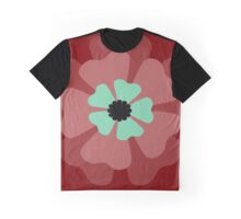 Red Flower 1 Graphic T-Shirt