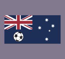Australian Flag Soccer ball Kids Clothes