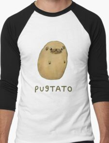 pugtato Men's Baseball ¾ T-Shirt
