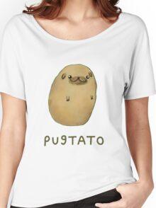 pugtato Women's Relaxed Fit T-Shirt