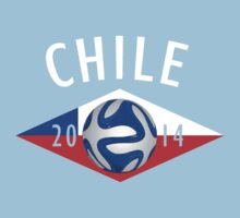 Chile 2014 World Cup by heliconista