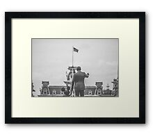 walt disney and mickey mouse.  Framed Print