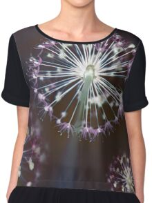 Floral Fireworks Chiffon Top