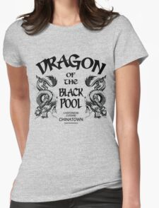 Dragon Of The Black Pool Womens Fitted T-Shirt