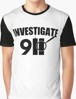 Investigate 911 Graphic T-Shirt