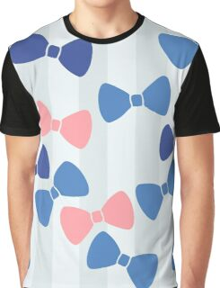 Vintage Pastel Bows Graphic T-Shirt