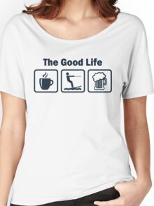 Funny Waterskiing Good Life Women's Relaxed Fit T-Shirt