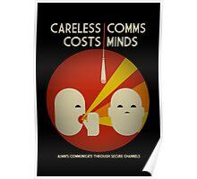 Ingress : Careless Comms Poster