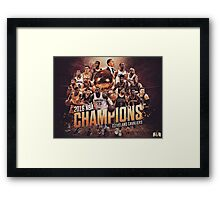 Cleveland Cavaliers 2016 NBA Champions Framed Print