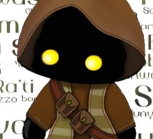 Jawa and Jawaese Sticker