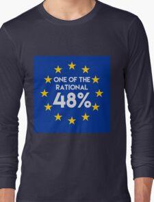 One of the rational 48% - EU Referendum Long Sleeve T-Shirt