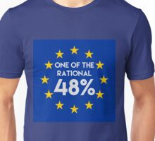 One of the rational 48% - EU Referendum Unisex T-Shirt