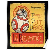 Tournee du Petit Droide Poster