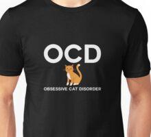 OCD Obsessive Cat Disorder Unisex T-Shirt