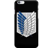 Attack on Titan Survey Corps Logo iPhone Case/Skin