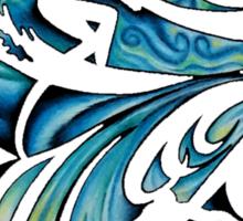 Surfing Time Sticker
