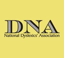 DNA National Dyslexics' Association One Piece - Short Sleeve